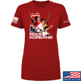 IV8888 Ladies Roof Koreans T-Shirt T-Shirts SMALL / Red by Ballistic Ink - Made in America USA