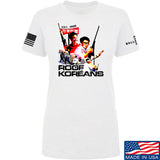 IV8888 Ladies Roof Koreans T-Shirt T-Shirts SMALL / White by Ballistic Ink - Made in America USA