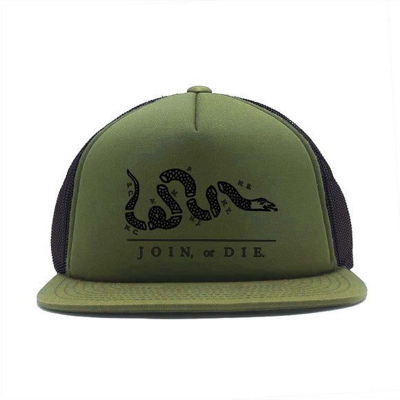 Join Or Die Foam Trucker Cap