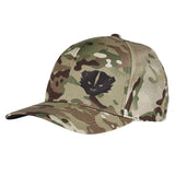 Kit Badger Kit Badger Logo Flexfit® Multicam® Trucker Cap Headwear [variant_title] by Ballistic Ink - Made in America USA