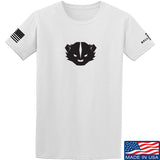 Kit Badger Kit Badger Logo T-Shirt T-Shirts Small / White by Ballistic Ink - Made in America USA