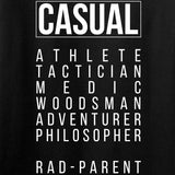 Kit Badger Professional Human v1.0 - Rad Parent Long Sleeve T-Shirt Long Sleeve [variant_title] by Ballistic Ink - Made in America USA