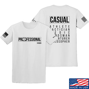 Kit Badger Professional Human v2.0 T-Shirt T-Shirts Small / Black by Ballistic Ink - Made in America USA
