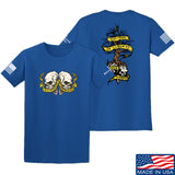 Kit Badger Tyrants & Patriots T-Shirt T-Shirts Small / Blue by Ballistic Ink - Made in America USA