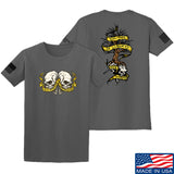 Kit Badger Tyrants & Patriots T-Shirt T-Shirts Small / Charcoal by Ballistic Ink - Made in America USA