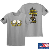 Kit Badger Tyrants & Patriots T-Shirt T-Shirts Small / Light Grey by Ballistic Ink - Made in America USA