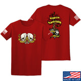 Kit Badger Tyrants & Patriots T-Shirt T-Shirts Small / Red by Ballistic Ink - Made in America USA