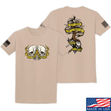 Kit Badger Tyrants & Patriots T-Shirt T-Shirts Small / Sand by Ballistic Ink - Made in America USA
