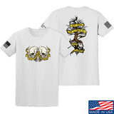Kit Badger Tyrants & Patriots T-Shirt T-Shirts Small / White by Ballistic Ink - Made in America USA