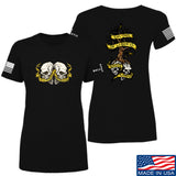 Kit Badger Ladies Tyrants & Patriots T-Shirt T-Shirts SMALL / Black by Ballistic Ink - Made in America USA