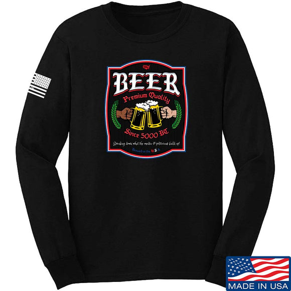 Legally Armed America Beer Long Sleeve T-Shirt