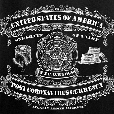 Post CoronaVirus Currency Long Sleeve T-Shirt