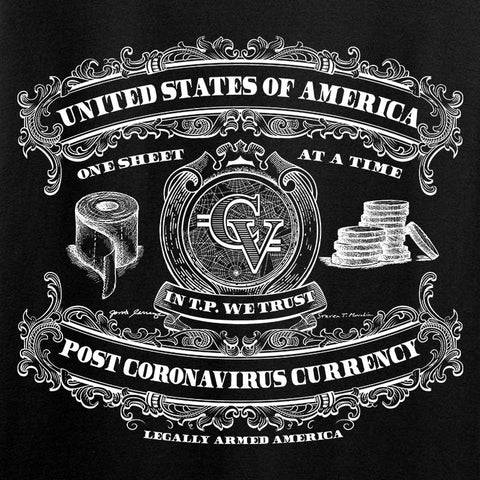 Ladies Post CoronaVirus Currency T-Shirt