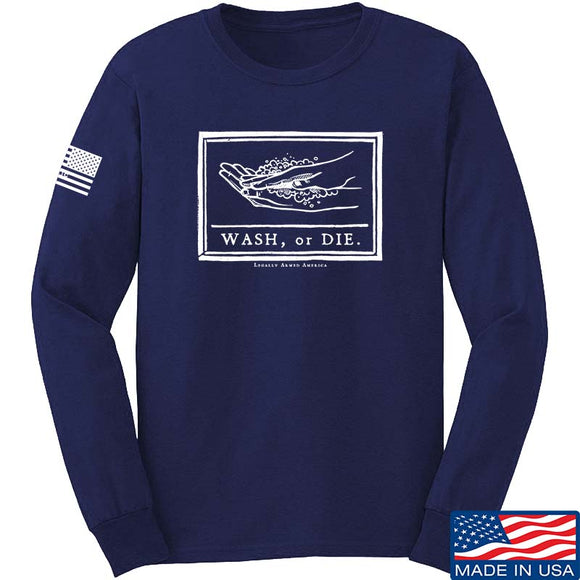 Wash or Die Long Sleeve T-Shirt