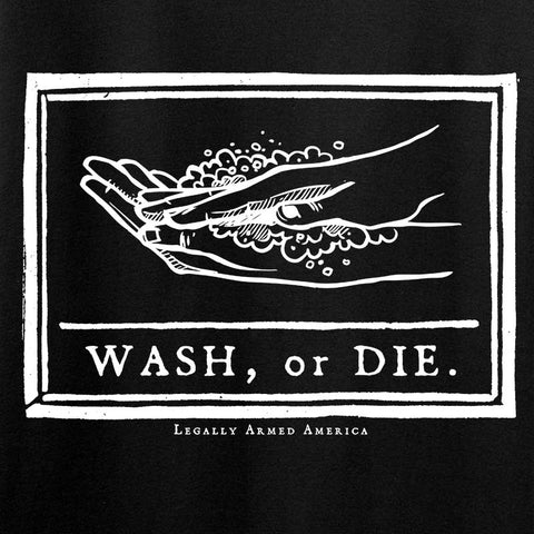 Ladies Wash or Die Template T-Shirt