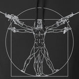 MAC Armed Vitruvian Man Hoodie Hoodies [variant_title] by Ballistic Ink - Made in America USA
