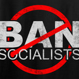 MAC Ban Socialists Long Sleeve T-Shirt Long Sleeve [variant_title] by Ballistic Ink - Made in America USA