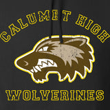 MAC Calumet High Wolverines Hoodie Hoodies [variant_title] by Ballistic Ink - Made in America USA