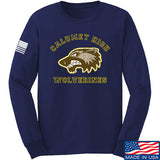 MAC Calumet High Wolverines Long Sleeve T-Shirt Long Sleeve Small / Navy by Ballistic Ink - Made in America USA
