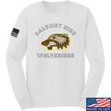 MAC Calumet High Wolverines Long Sleeve T-Shirt Long Sleeve Small / White by Ballistic Ink - Made in America USA