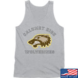 MAC Calumet High Wolverines Tank Tanks SMALL / Light Grey by Ballistic Ink - Made in America USA