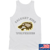 MAC Calumet High Wolverines Tank Tanks SMALL / White by Ballistic Ink - Made in America USA