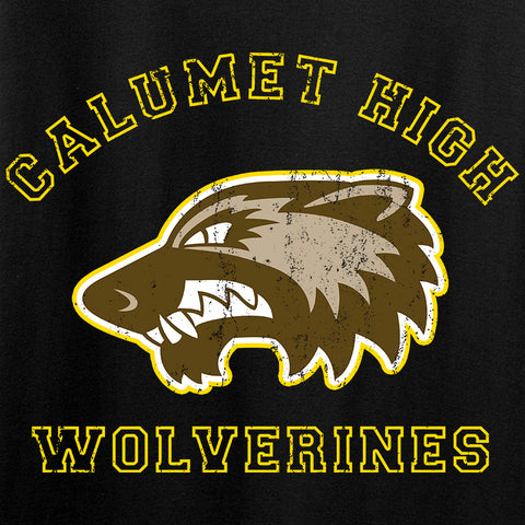 MAC Calumet High Wolverines Long Sleeve T-Shirt Long Sleeve [variant_title] by Ballistic Ink - Made in America USA