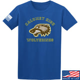MAC Calumet High Wolverines T-Shirt T-Shirts Small / Blue by Ballistic Ink - Made in America USA