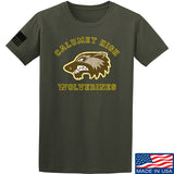 MAC Calumet High Wolverines T-Shirt T-Shirts Small / Military Green by Ballistic Ink - Made in America USA