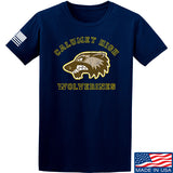MAC Calumet High Wolverines T-Shirt T-Shirts Small / Navy by Ballistic Ink - Made in America USA