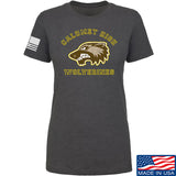 MAC Ladies Calumet High Wolverines T-Shirt T-Shirts SMALL / Charcoal by Ballistic Ink - Made in America USA