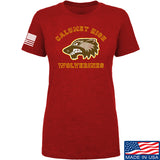 MAC Ladies Calumet High Wolverines T-Shirt T-Shirts SMALL / Red by Ballistic Ink - Made in America USA