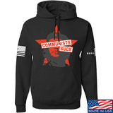 MAC Communists Suck Hoodie Hoodies Small / Black by Ballistic Ink - Made in America USA