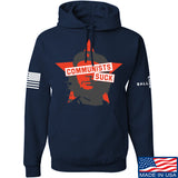 MAC Communists Suck Hoodie Hoodies Small / Navy by Ballistic Ink - Made in America USA