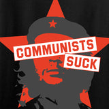 MAC Communists Suck Long Sleeve T-Shirt Long Sleeve [variant_title] by Ballistic Ink - Made in America USA