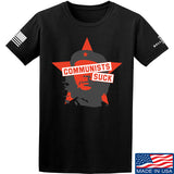 MAC Communists Suck T-Shirt T-Shirts Small / Black by Ballistic Ink - Made in America USA
