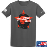 MAC Communists Suck T-Shirt T-Shirts Small / Charcoal by Ballistic Ink - Made in America USA