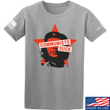 MAC Communists Suck T-Shirt T-Shirts Small / Light Gray by Ballistic Ink - Made in America USA