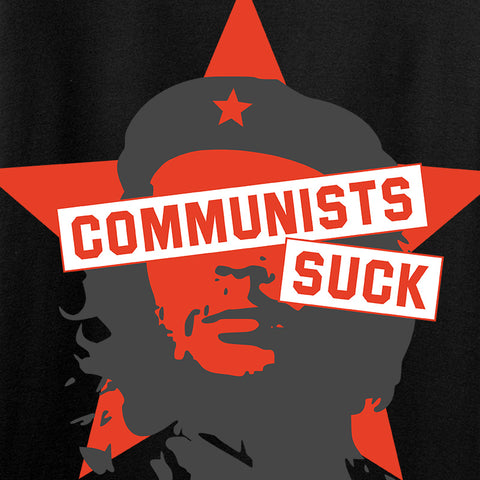 MAC Ladies Communists Suck T-Shirt T-Shirts [variant_title] by Ballistic Ink - Made in America USA