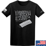 MAC Dangerous Freedom AR15 Mag T-Shirt T-Shirts Small / Black by Ballistic Ink - Made in America USA
