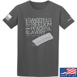 MAC Dangerous Freedom AR15 Mag T-Shirt T-Shirts Small / Charcoal by Ballistic Ink - Made in America USA