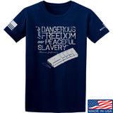 MAC Dangerous Freedom AR15 Mag T-Shirt T-Shirts Small / Navy by Ballistic Ink - Made in America USA