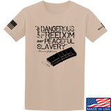 MAC Dangerous Freedom AR15 Mag T-Shirt T-Shirts Small / Sand by Ballistic Ink - Made in America USA