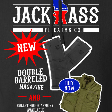 MAC Double Barreled Magazine Hoodie Hoodies [variant_title] by Ballistic Ink - Made in America USA