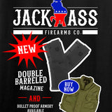 MAC Double Barreled Magazine Long Sleeve T-Shirt Long Sleeve [variant_title] by Ballistic Ink - Made in America USA