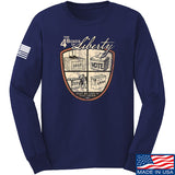 MAC Four Boxes Of Liberty Long Sleeve T-Shirt Long Sleeve Small / Navy by Ballistic Ink - Made in America USA