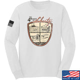 MAC Four Boxes Of Liberty Long Sleeve T-Shirt Long Sleeve Small / White by Ballistic Ink - Made in America USA
