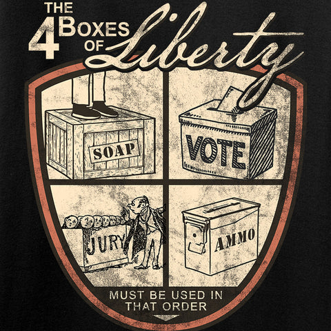 MAC Four Boxes Of Liberty Tank Tanks [variant_title] by Ballistic Ink - Made in America USA