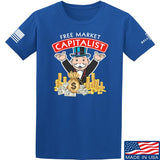 MAC Free Market Capitalist T-Shirt T-Shirts Small / Blue by Ballistic Ink - Made in America USA