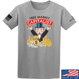 MAC Free Market Capitalist T-Shirt T-Shirts Small / Light Gray by Ballistic Ink - Made in America USA